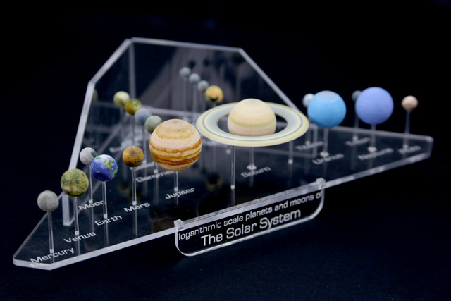 solar system model to scale - photo #27