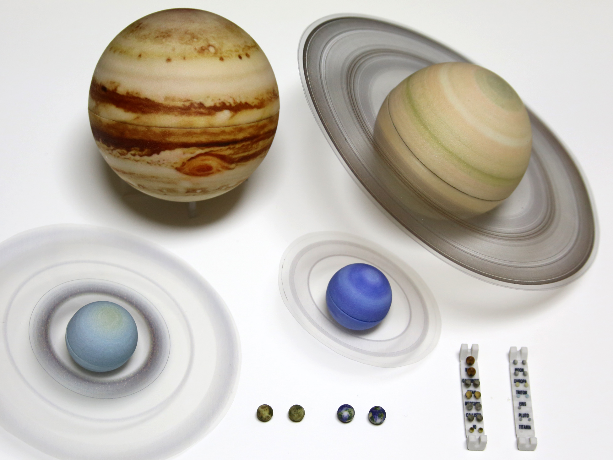Guide To An Ultra Detailed Scale Solar System Celestial